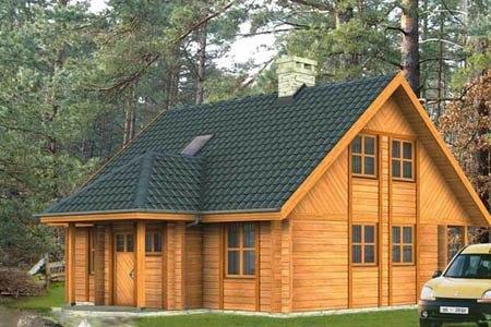 дома на основе деревянного каркаса г.Липецк